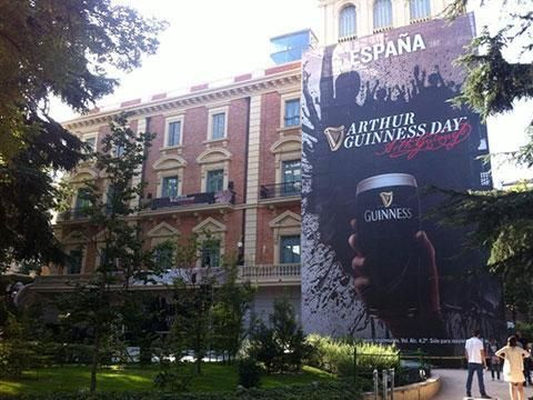 Arthur Guinness Day en Madrid en el Museo Lázaro Galdiano. http://www.eventoplus.com/caso/2113/un-evento-en-el-museo-lazaro-galdiano-con-musica-y-guinness/