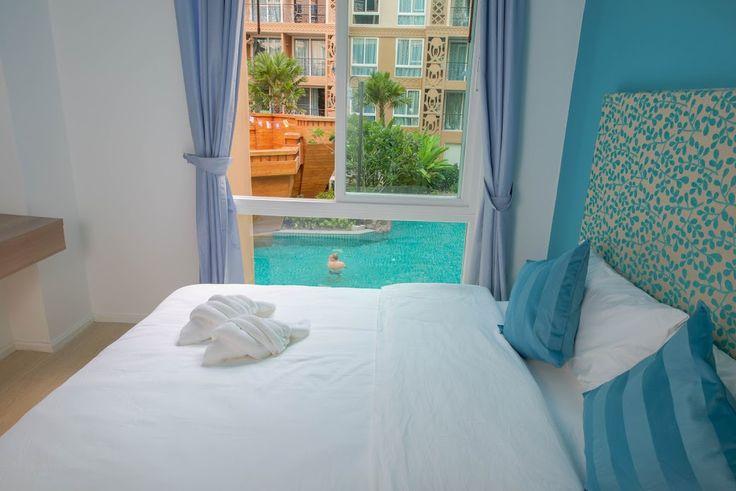 Atlantis Suite with Bridge View (B708) apartment, Pattaya, Thailand.