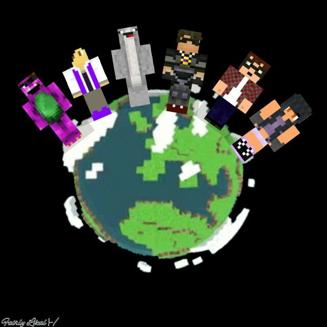 Thatguybarney, House_owner, Jinbop, Skydoesminecraft, Munchingbrotato, and Aphmu edit