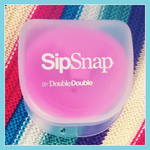 SipSnap Case ~ Turn any cup in to a spill-proof kid friendly Sippy or Straw Cup.