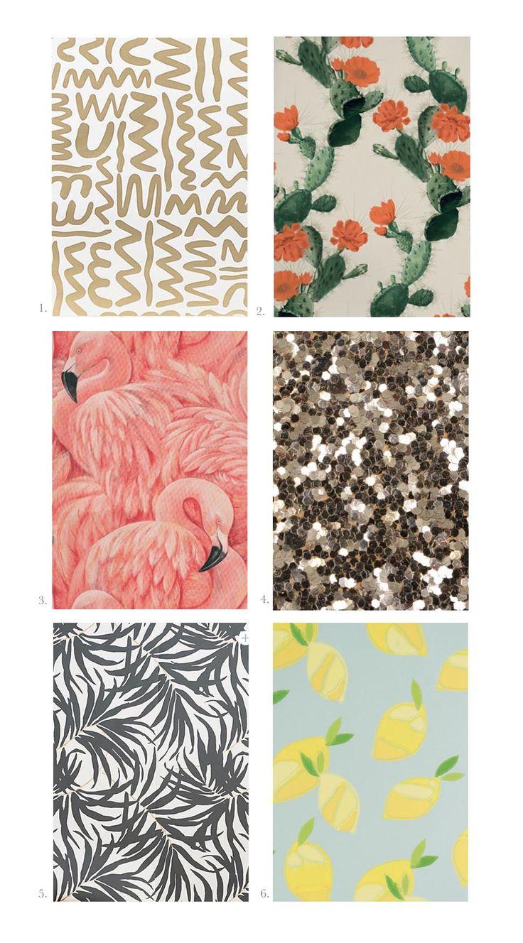 Twelve Incredible Wallpaper Patterns You Haven't Seen Before   A Beautiful Mess   Bloglovin'
