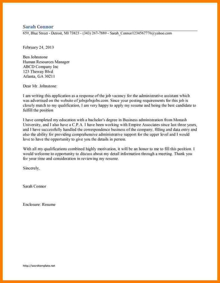 Leading Administration Office Support Cover Letter Examples
