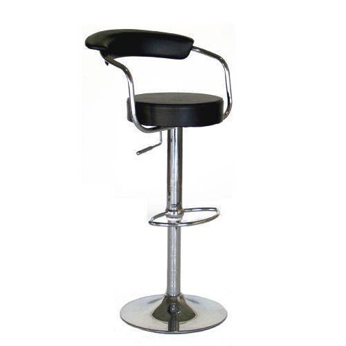 Lovely Contemporary Adjustable Height Swivel Bar Stool