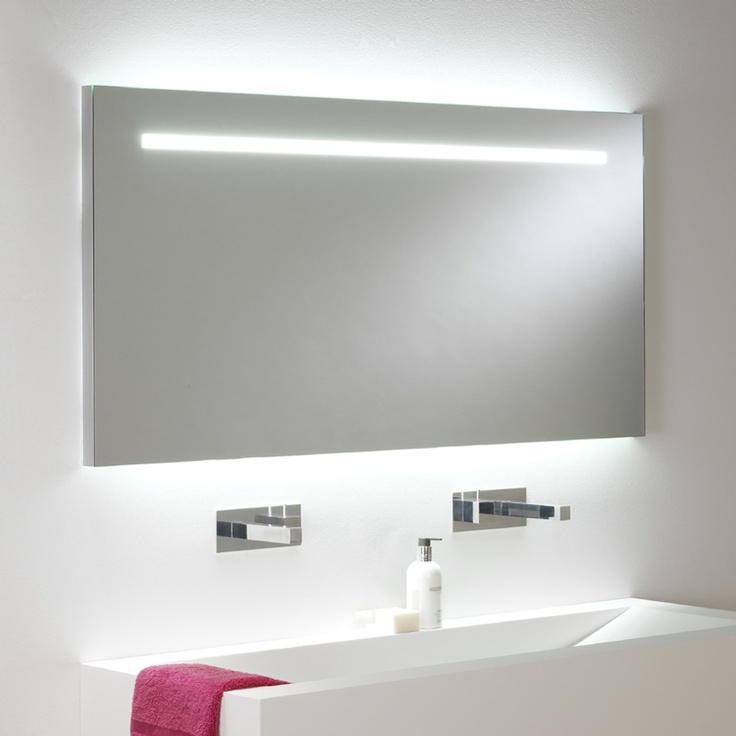 Miroir lumineux led int gr clairage up down salle for Miroir lumineux led