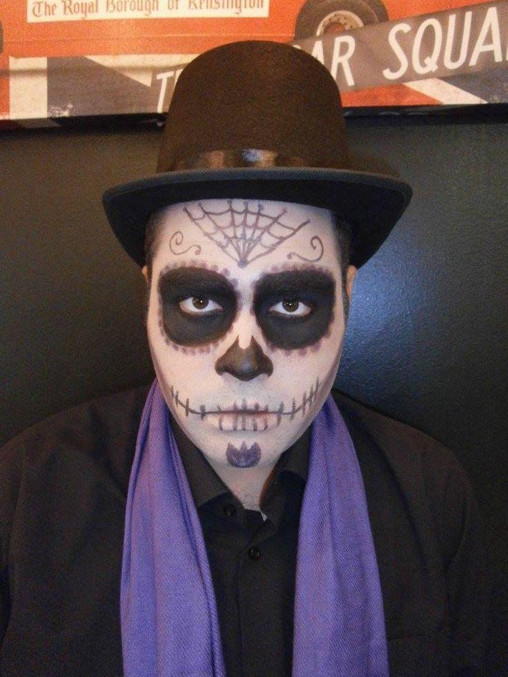 Dia de los Muertos/ Day of Dead  male makeup
