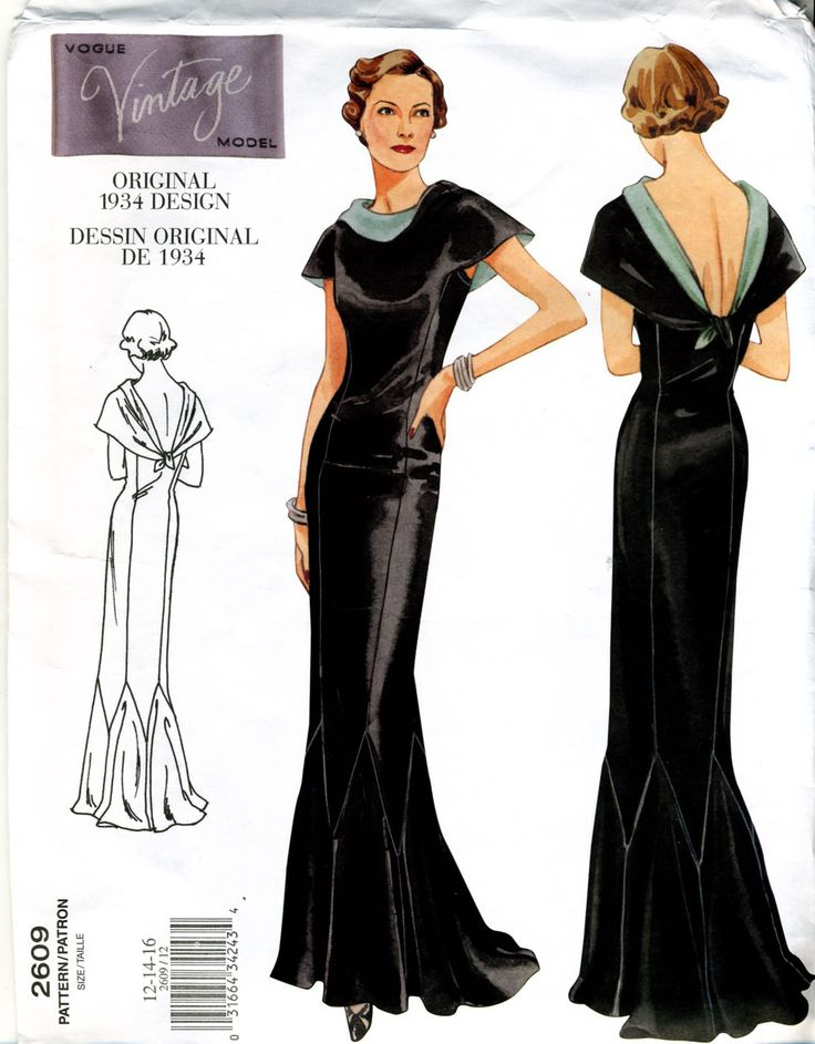 Vintage Vogue 1934