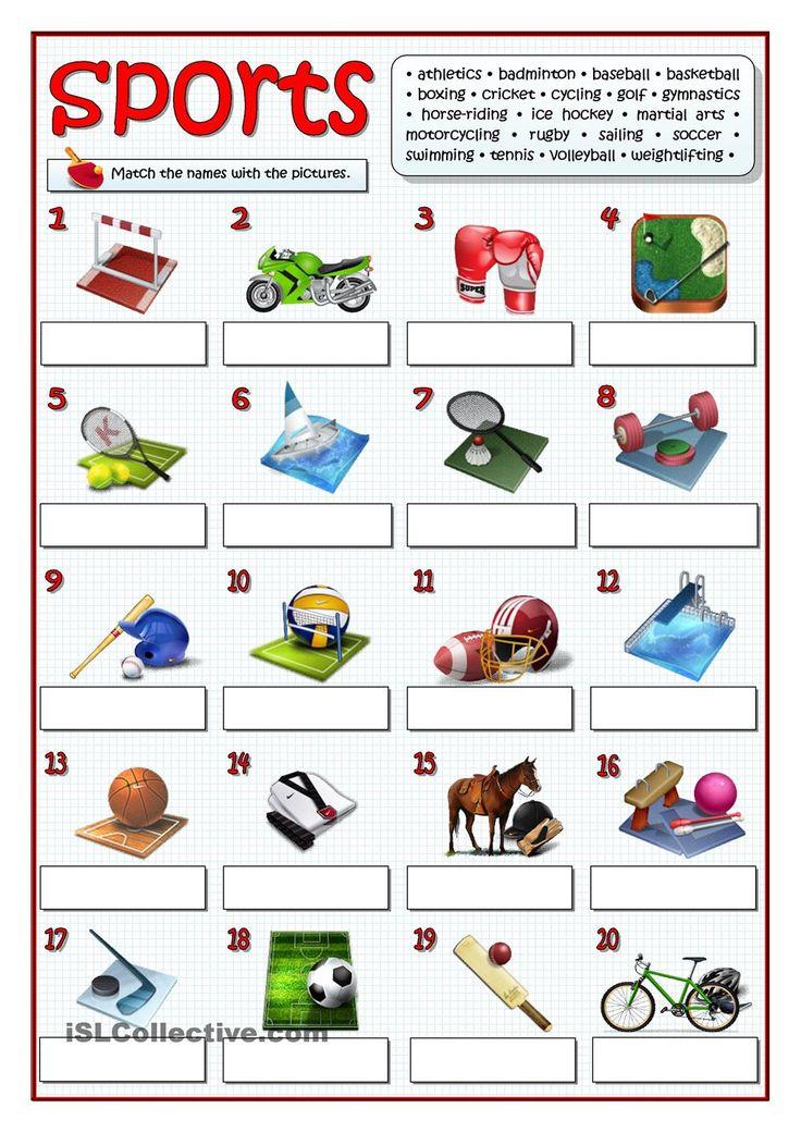Sport vocabulary Flashcards | Quizlet