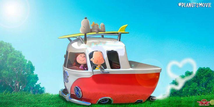 Snoopy ❤ #VW ❤ #Surf ❤ Love ❤