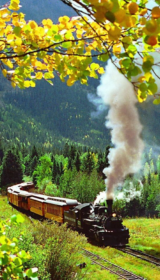 Train In Colorado