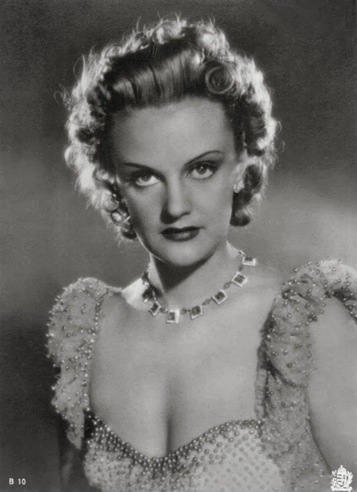 Klára Tolnay Actress of Hungary