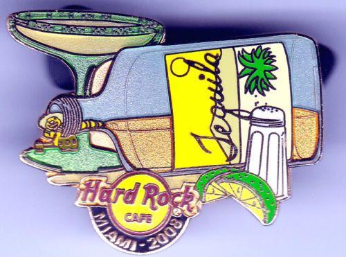2008-Miami-Tequila-Sal-limon-Margarita-Hard-Rock-Cafe-Lapel-PIN-Spilla-HRC