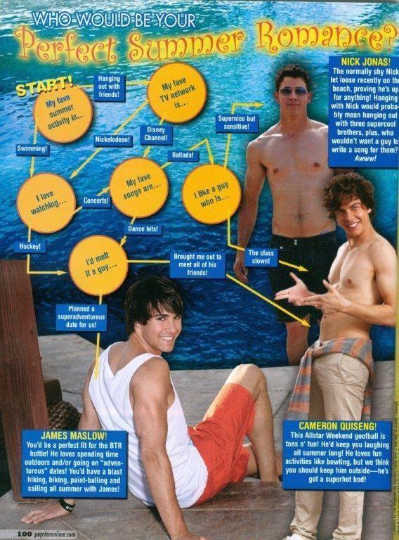 Nick Jonas Brothers Cameron Quiseng SHIRTLESS Pinup | eBay