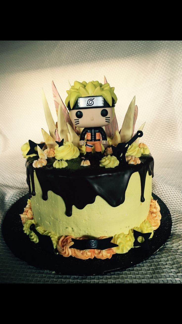 Naruto Birthday Cake Ideas