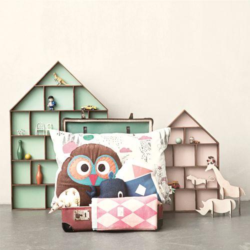 Ferm Living Kussen Uil   LOODS 5   Design   Jouw stijl in huis meubels & woonaccessoires
