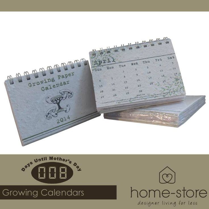 These stunning Growing Paper Calenders are the ideal gift for any mom. The combination of creativity and functionality is irresistible. Visit Home-Store for these and other gorgeous gift ideas for Mother's Day. #MothersDay #musthave
