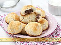 Dolcetti al cocco ripieni di Nutella ricetta