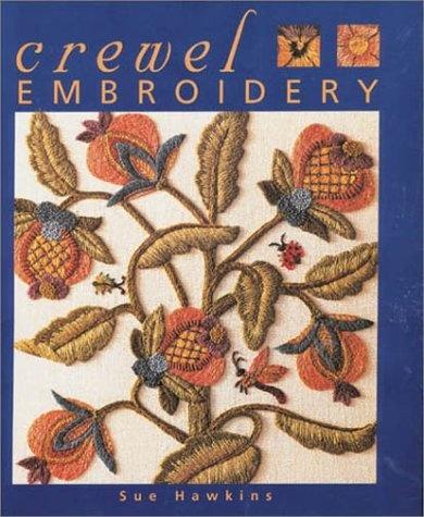 Crewel Embroidery by Sue Hawkins, http://www.amazon.co.uk/dp/0715310747/ref=cm_sw_r_pi_dp_cjjUrb0MPJ8FD