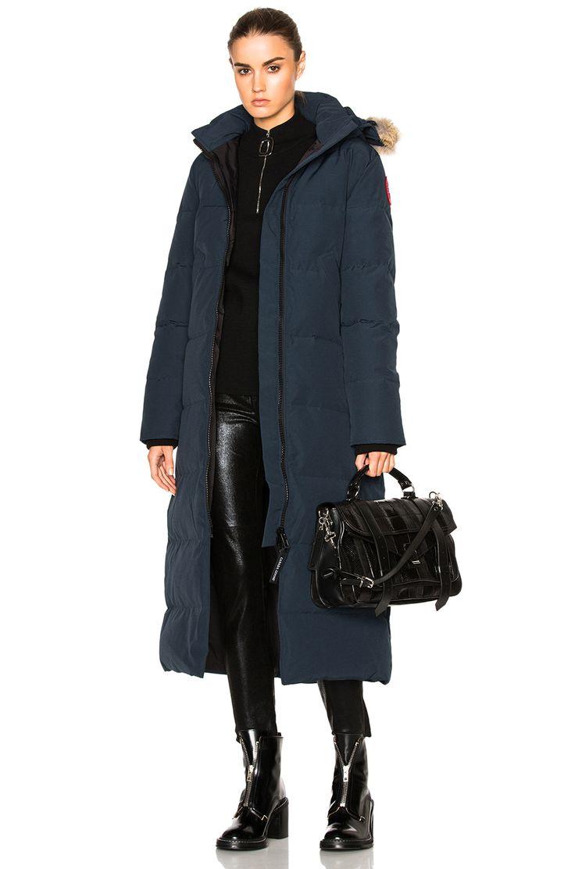 CANADA GOOSE Mystique Parka with Coyote Fur. #canadagoose #cloth #