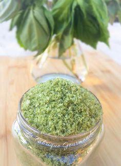 Fleur de Sel Au Basilic Maison Basil Salt