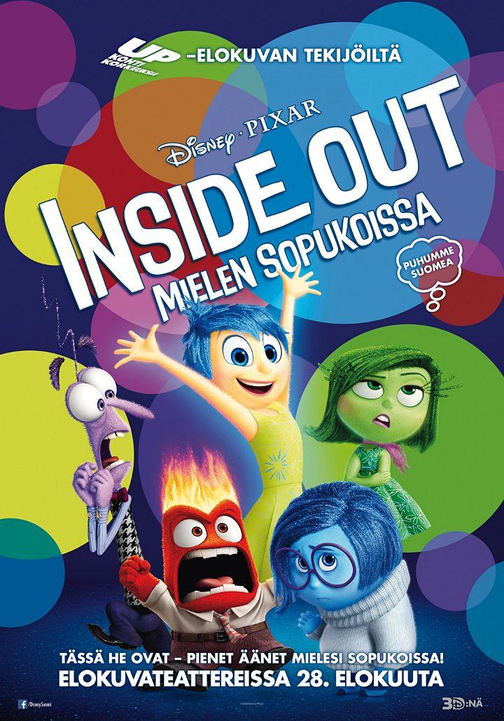 Inside out – Mielen sopukoissa arvostelu - Disnerd dreams