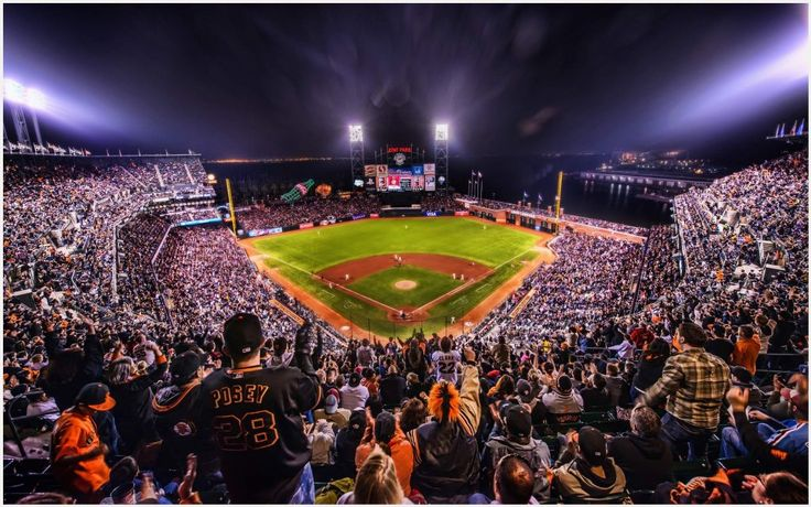 SF Giants Game Stadium Wallpaper | san francisco giants stadium wallpaper, sf giants stadium wallpaper