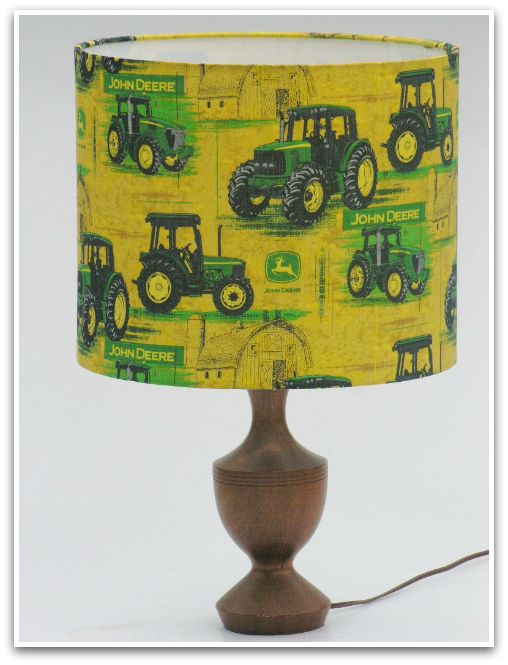 Green John Deere Lamp Shade : Best tropical lampshades images on pinterest lamp