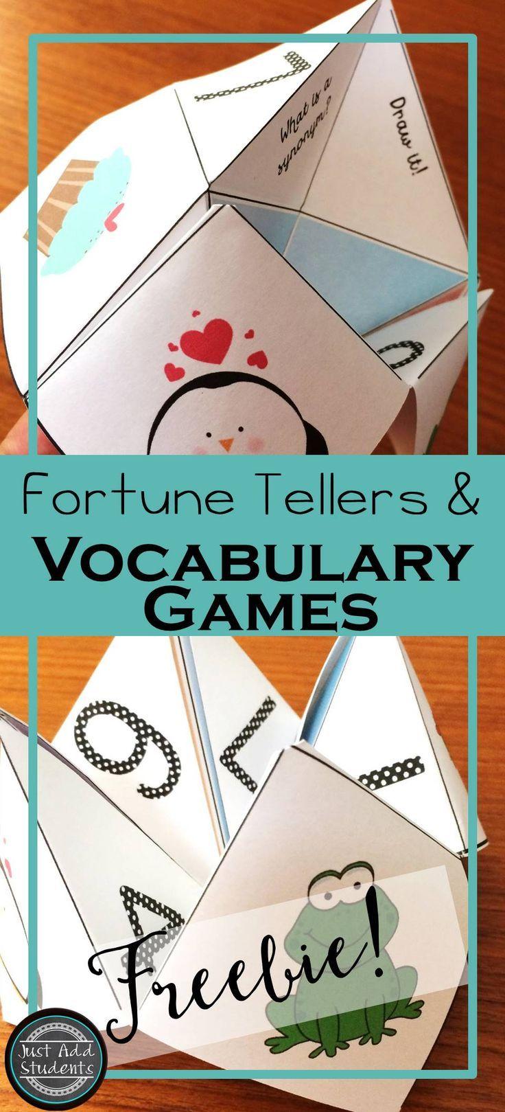 Vocabulary Activities for Kids | Education.com