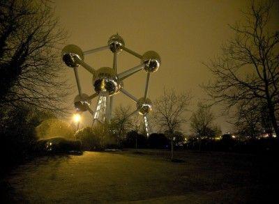 Vidéo: la beauté de l-Atomium révélée