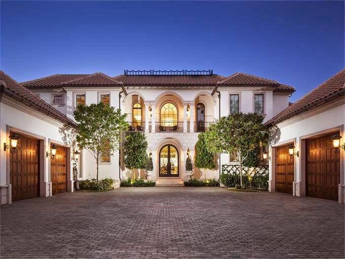 Big house with 4 car garage dream houses for Big houses in florida