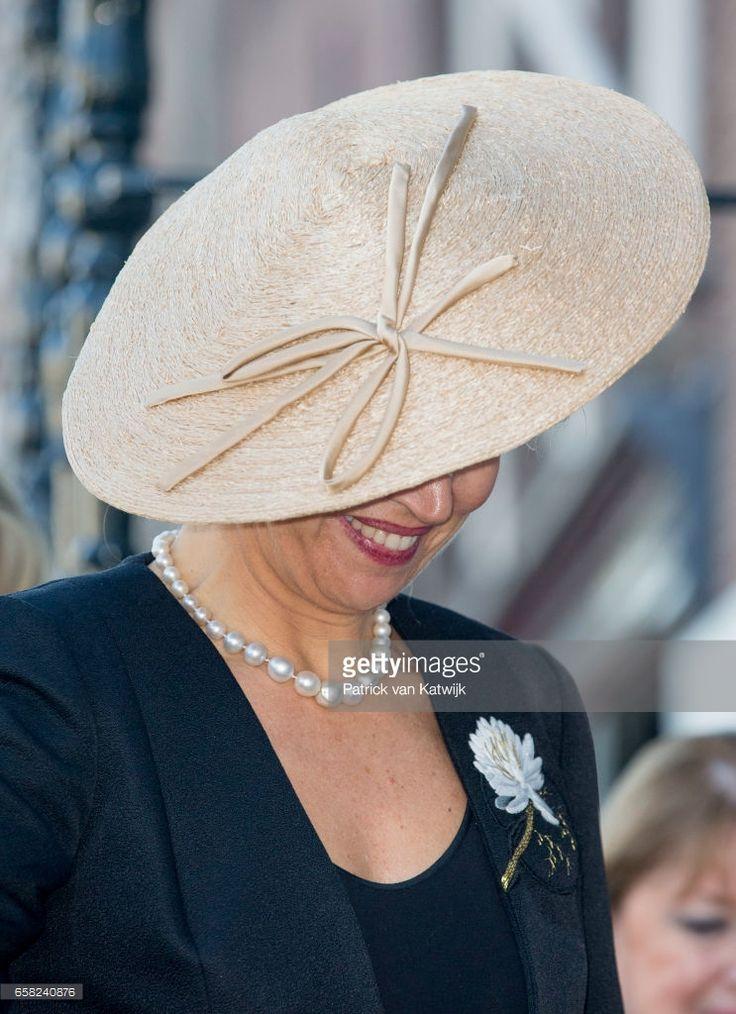 Queen Maxima of The Netherlands - Designer:  Fabienne Delvigne - Royal Hats