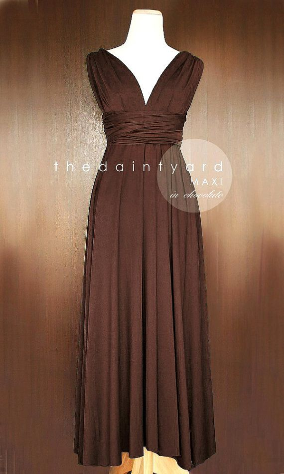 [TDY INFINITY DRESS]  A classic dress that will never go out of style.  Create endless styles with this one dress.  Very versatile and it is