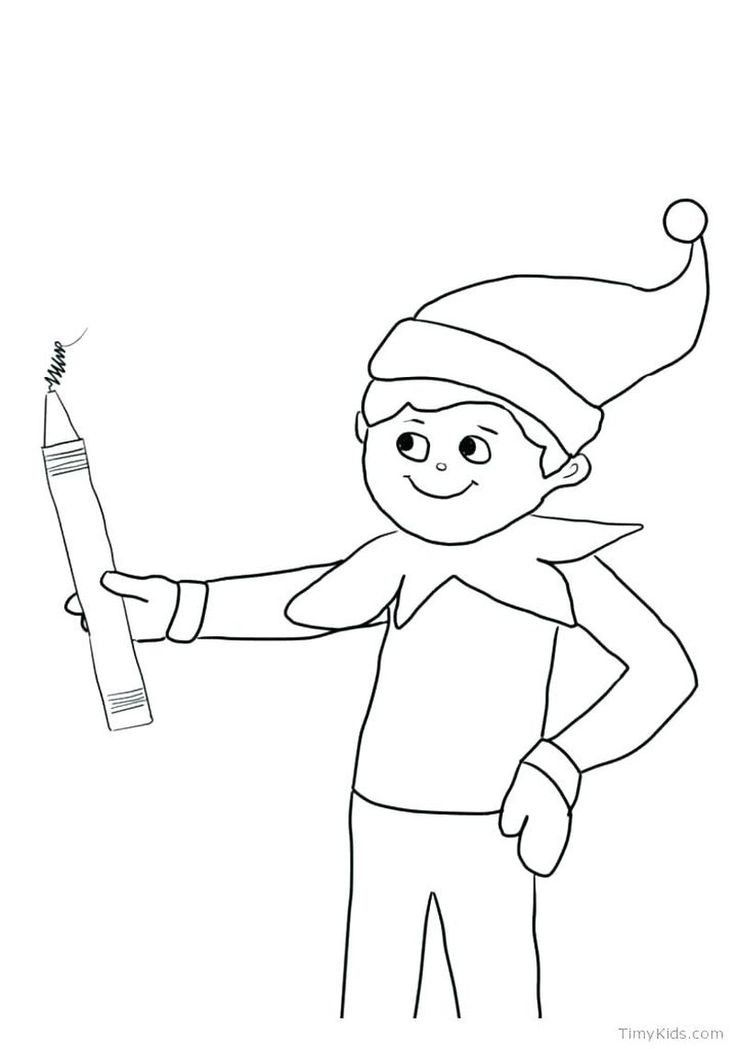 Anime Elf Girl Coloring Pages