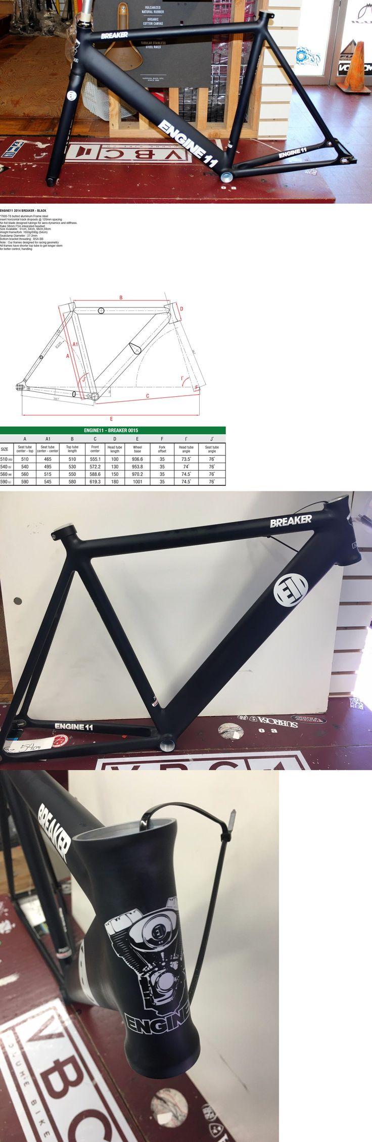 Bicycle Frames 22679: New 2014 Engine11 Breaker Frame Set 54Cm Blue Track Bicycle Frame Columbus Fork -> BUY IT NOW ONLY: $529.99 on eBay!