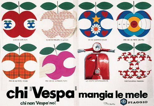 """Flyer: Chi """"Vespa"""" mangia le mele (viaeffieffieffi)    (Source: morbide666)"""