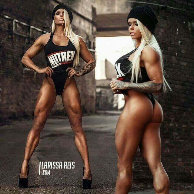 Female bodybuilding.