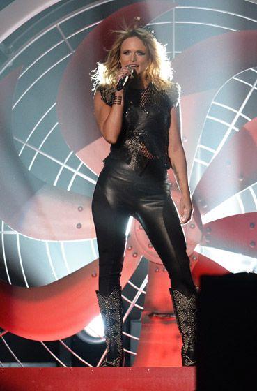"Miranda Lambert performing ""Little red wagon"" that was hot"