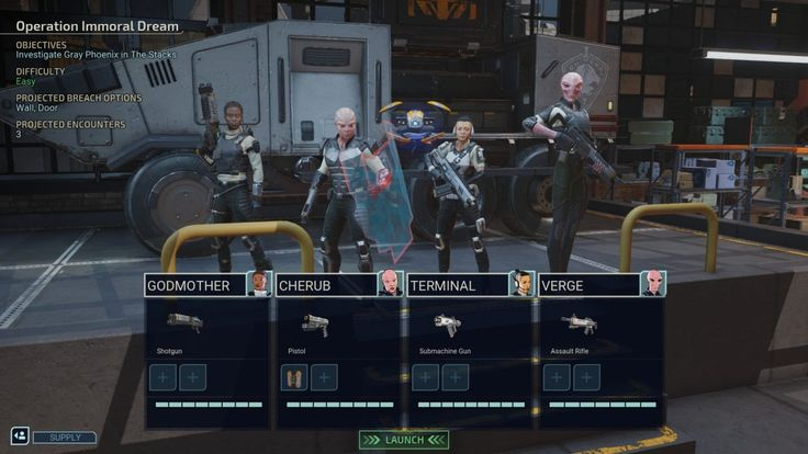 Chimera squad agent builds every squad members role