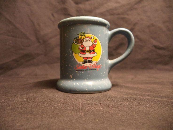 Santa s Village Jefferson New Hampshire Miniature Small Coffee Mug Ornament Gift