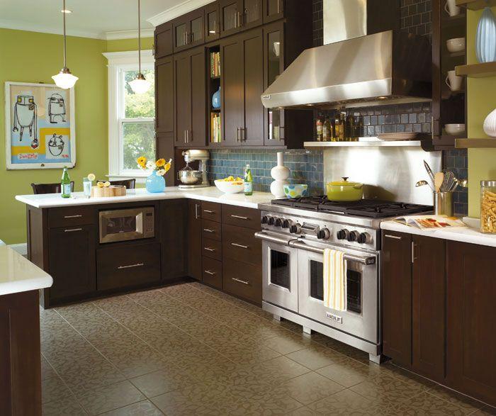 58 best kitchen images on pinterest backsplash ideas backsplash tile and for the home - Modern look kitchen cabinets pictures for maximum effect ...