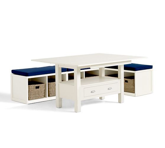 ryland drop leaf table modular banquette pottery barn
