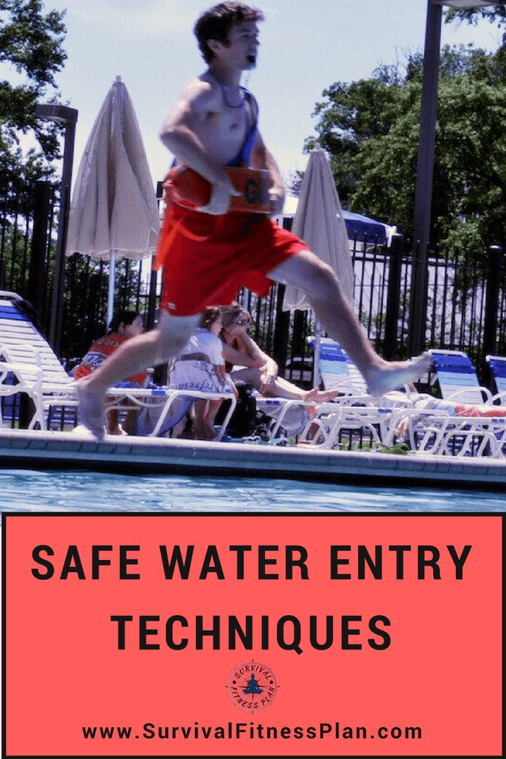 Safe Water Entries Water Safety Training Swimming tips