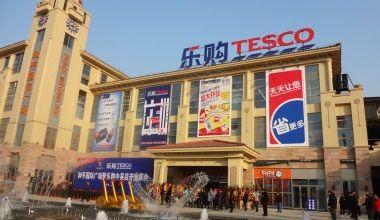 Tesco negociaza o fuziune Made in China cu un retailer controlat de statul chinez
