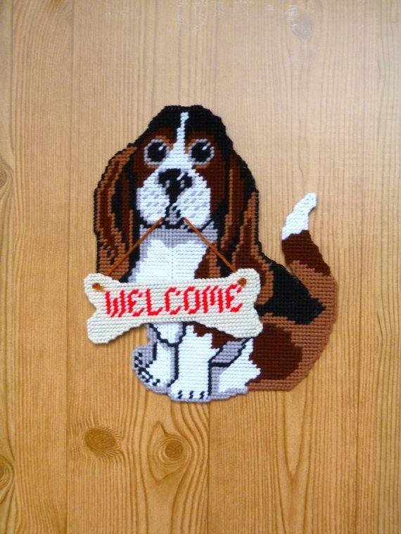 Wall Hanging Door Hanging Dog Wall Hanging Puppy by HometownUSA