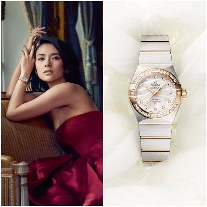The Omega Constellation has always been Zhang ZiYi's personal favorite. She believes in the values of Omega- credibility, achievement and pioneering spirit. In 2009, she became Omega's ambassador and launched the iconic collection worldwide. View the collection today!