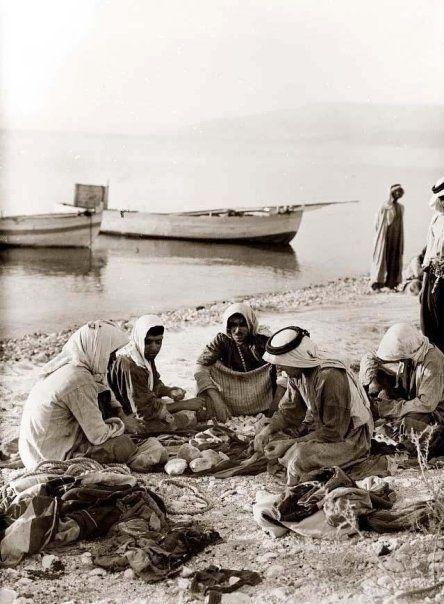 Sea of Galilee Fisherman, 1930s