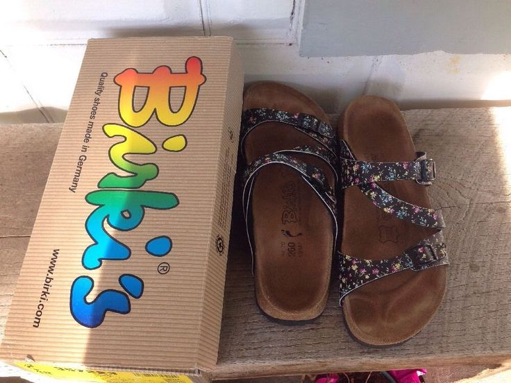 Womens Birkenstock Salina Magic Flowers Slide sold for $75.00 and bought for $15 at a garage sale.