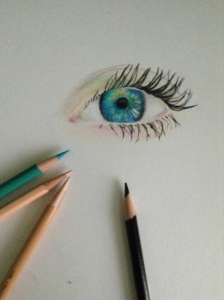 Eye Sketch Mac Eyeshadow And Green Eyes On Pinterest: Eye Drawings, I Like The Fact That It Uses Simple Tones To