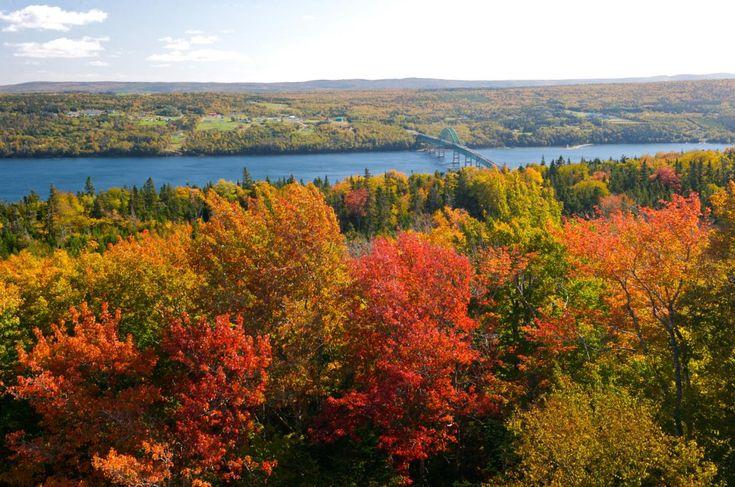 Fall road trip: Cabot Trail, Cape Breton - Canadian Living #autumn #fallcolours #capebretonfavs