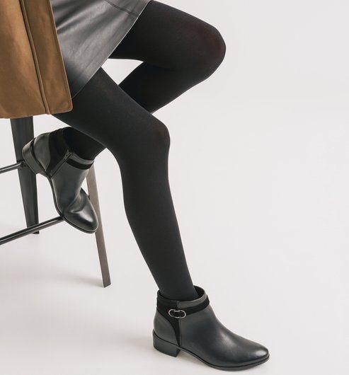 Collant opaque Femme noir - Promod