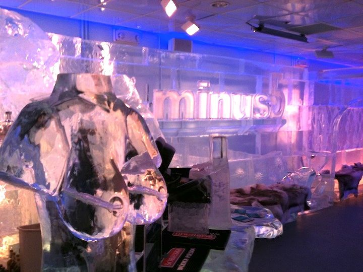 Minus 5º Combines Classy with Cheesy